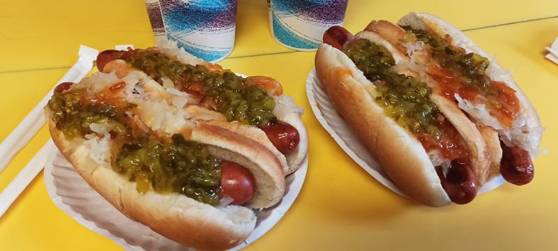 Hot Dogs en Nueva York
