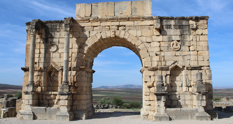 Volubilis: arco de Caracalla