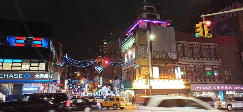 China Town en Nueva York