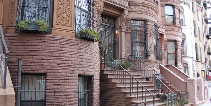 Contrastes Nueva York: Casas de Harlem