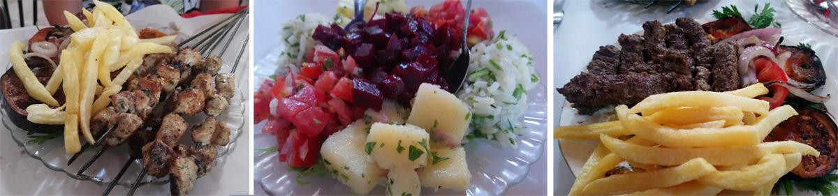 Comer en Moulay Idriss