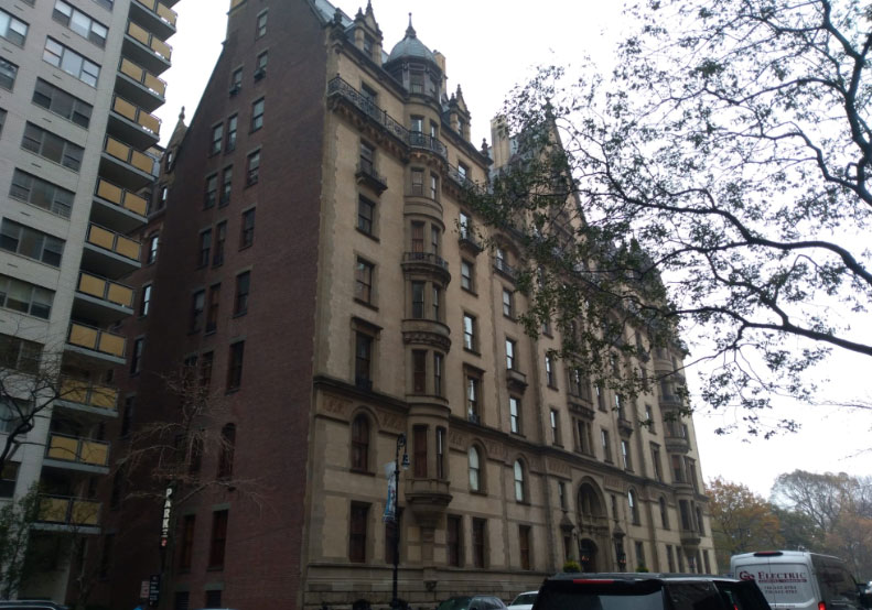 Edificio Dakota en New York