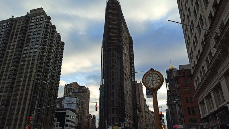 Edificio Flatiron en New York