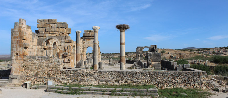 Foro romano de Volubilis