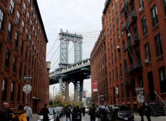 Foto desde Brooklyn con el puente de Manhattan