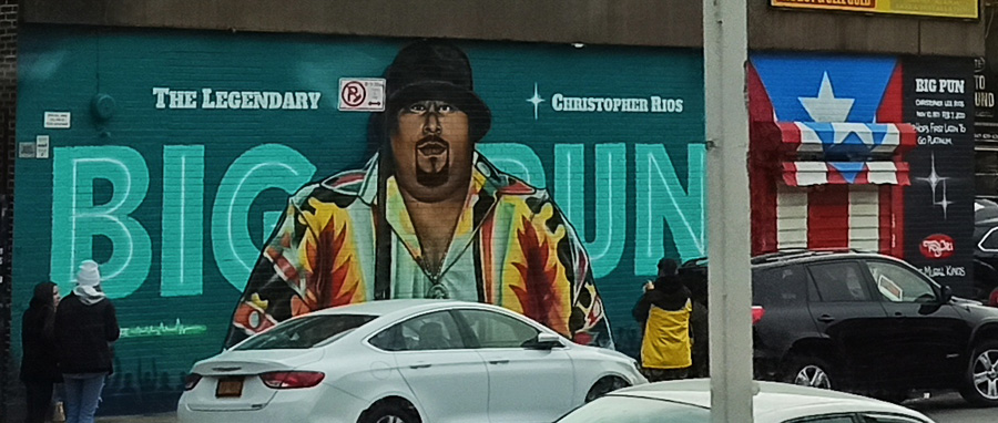 Tour Contrastes: Graffiti Big Pun