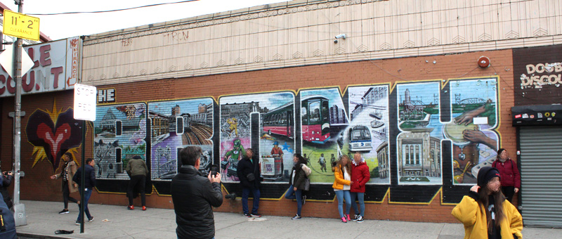 Tour Contrastes: Graffiti The Bronx