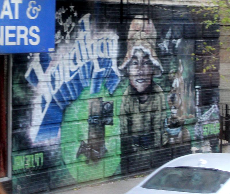 Contrastes New York: Graffiti Jonathan en el Bronx
