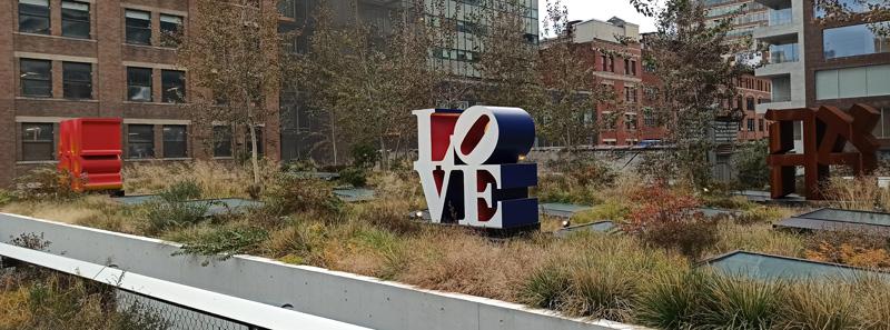 Love en Highline en New York