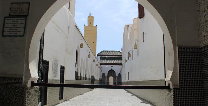 Moulay Idriss: mausoleo del fundador