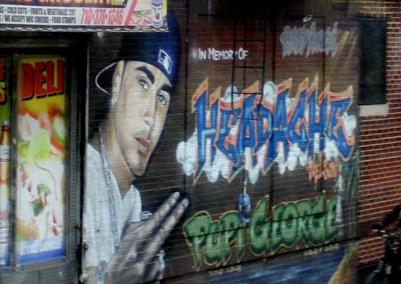 "Tour Contrastes New York: Graffiti Nelson Torres ""Headache"" en el Bronx"
