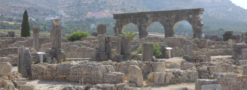 Oualili, ciudad romana en Marruecos
