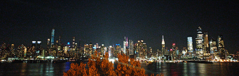 Foto de Manhattan de noche