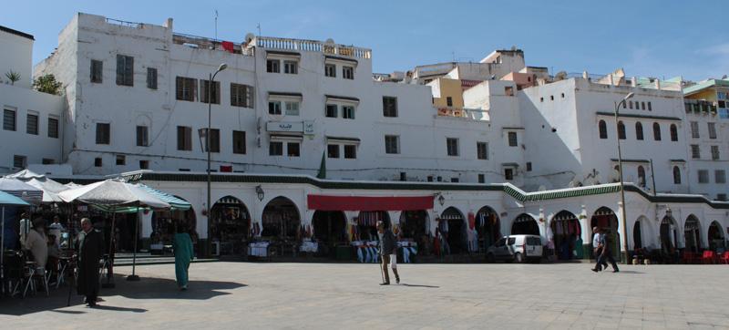 Plaza Mohamed VI en Moulay Idriss