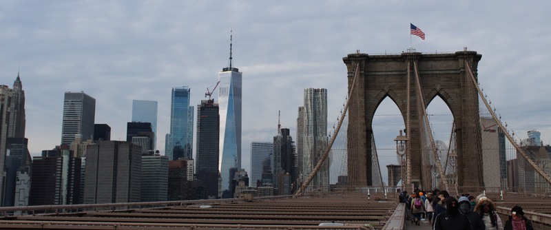 Puente de Brooklyn en New York