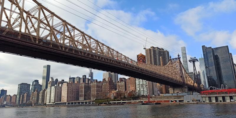 Puente Ed Koch Queensboro desde Roosevelt Island