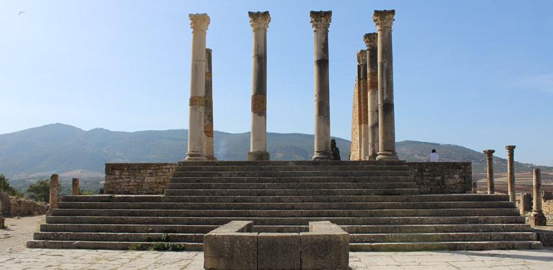 Templo de Júpiter en Volubilis