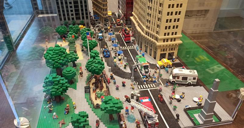 Nueva York en Lego