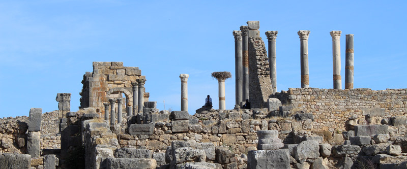 Volubilis, antigua ciudad romana