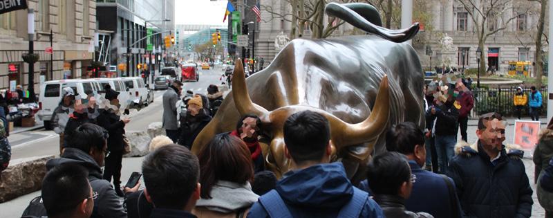 Toro de Wall Street en Nueva York