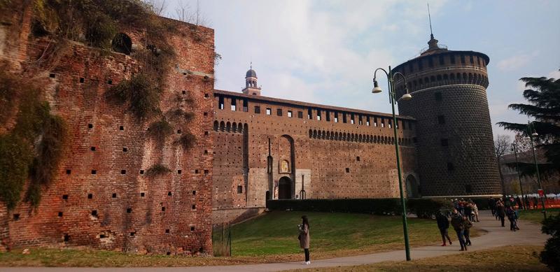Castello Sforzesco en Milán