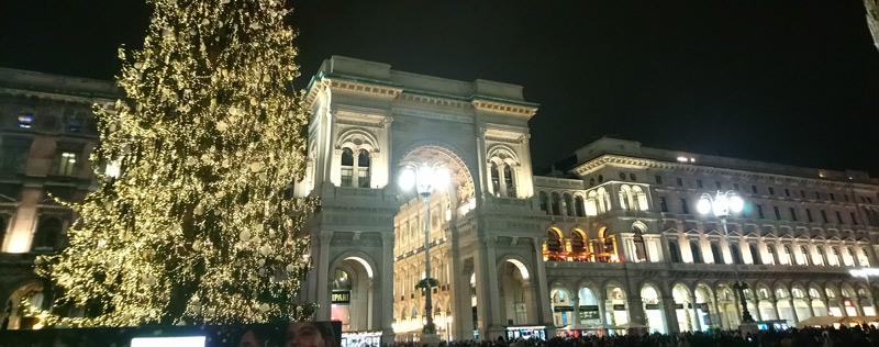 Galería Vittorio Emmanuel II de Milán