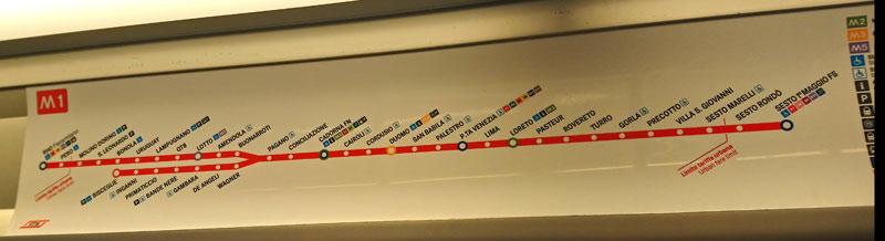 El Metro en Italia