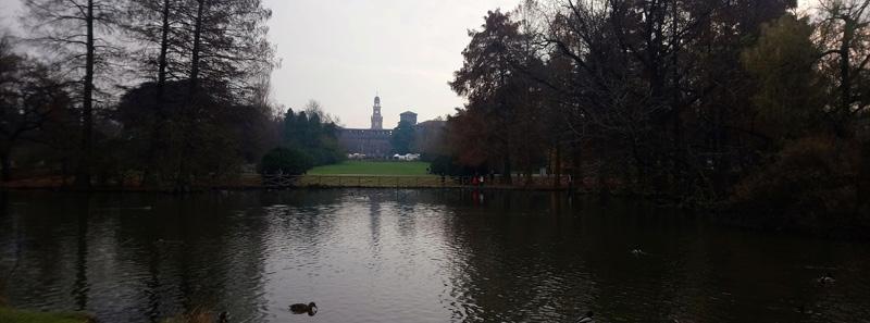 Parque Sempione Milán