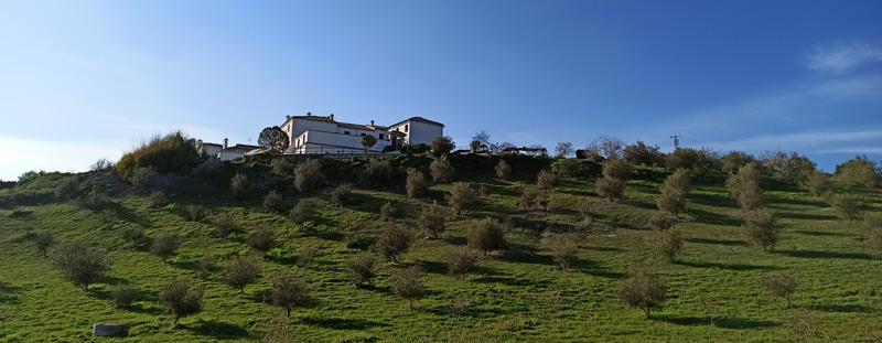Cortijo La Presa, en Las Lagunillas