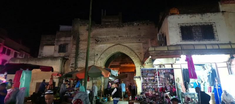 Puerta Bab Berrima en Meknes