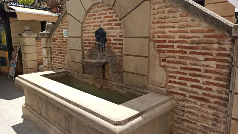 Fuente Caño de las Monjas en Archidona