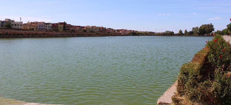 Estanque Swani en Meknes