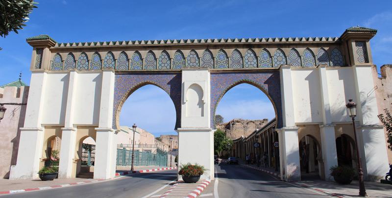 Mausoleo de Moulay Ismail en Meknes