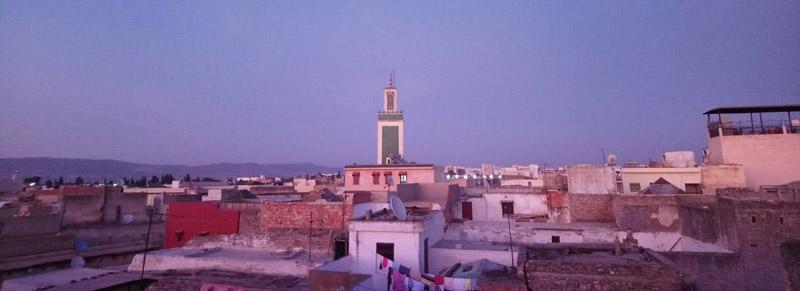 Atardecer en Meknes