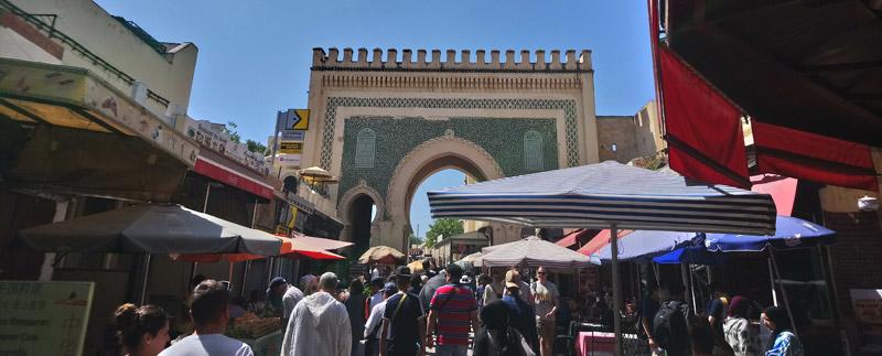 Bab Boujloud en Fez