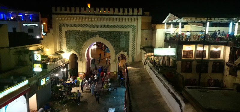 Peor sitio para cenar en Fez