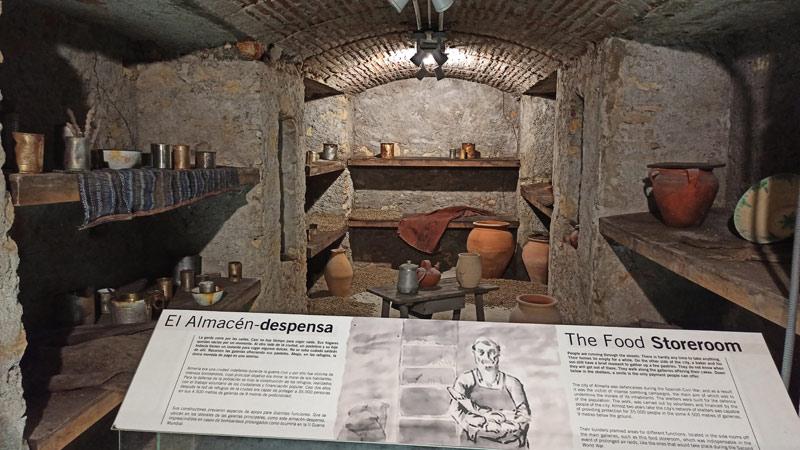 Túneles de la Guerra Civil de Almería