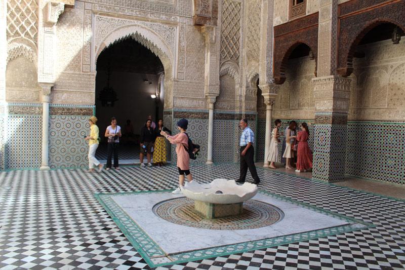 Visitar Madrasa Al Attarine en Fez