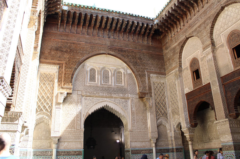 Visitar la Madrasa Al Attarine en Fez