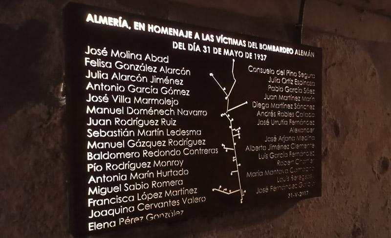 Túneles de los Refugios de la Guerra Civil en Almería