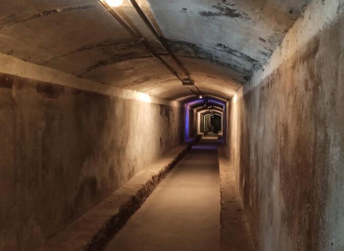 Túneles de la Guerra Civil en Almería
