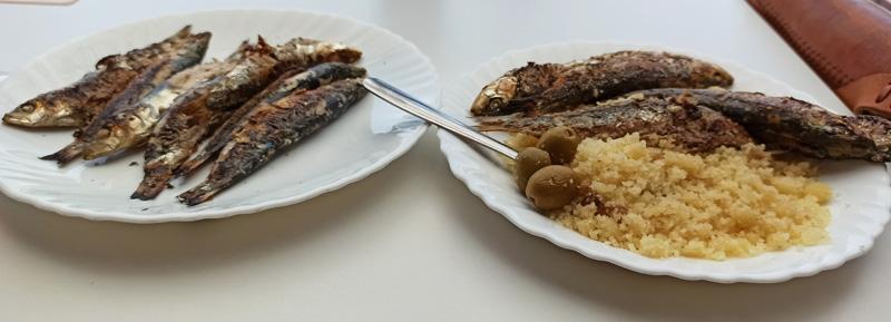 Dónde almorzar pescado frito en Almería
