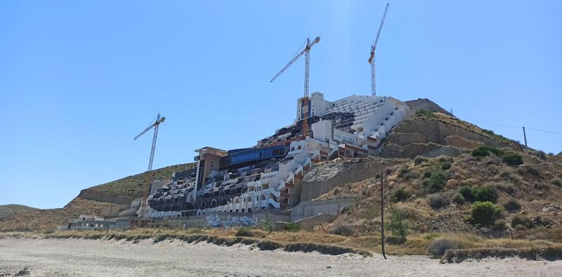 Hotel El Algarrobico, en Cabo de Gata