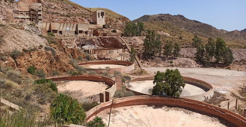 Minas de oro de Rodalquilar en Cabo de Gata