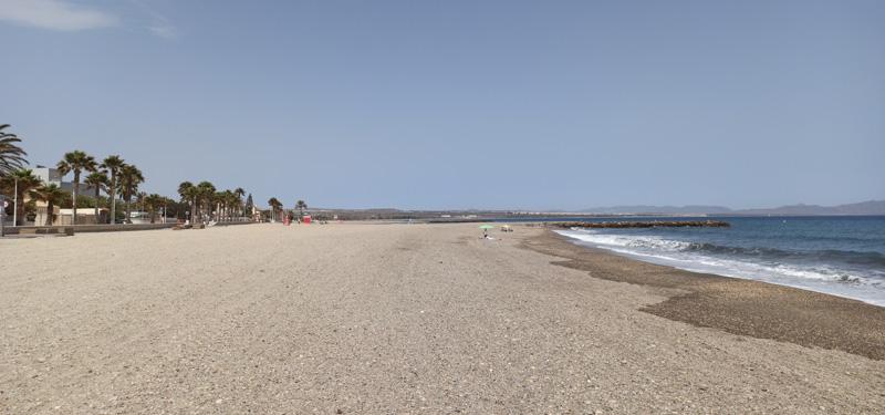 Playa Costacabana en Almería