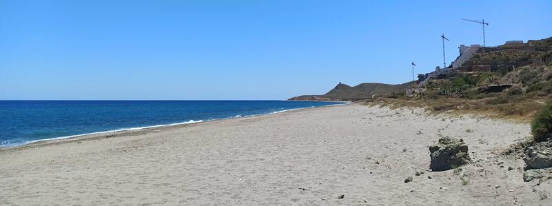 Playa del Algarrobico en Cabo de Gata