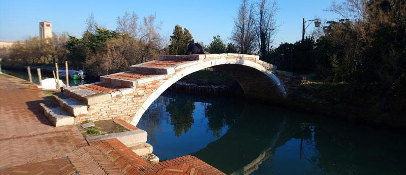 Puente del Diablo en Torcello