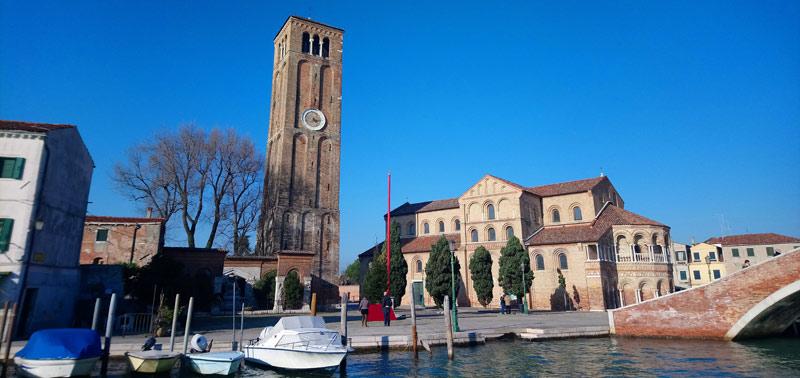 Iglesia de Santa María de los Ángeles en Murano