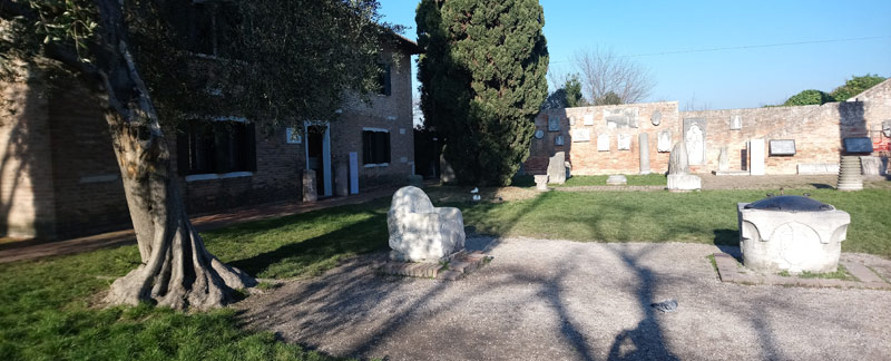 Trono de Atila en Torcello