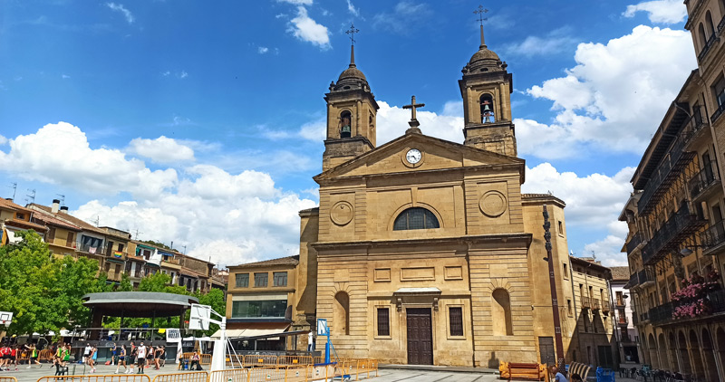 Iglesia de San Juan Bautista en Estella